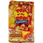 Top of Pop Cheese Flavor Popcorn for Microwave Oven 100g - buy, prices for Novus - image 2