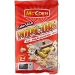 McCorn with butter popcorn 90g