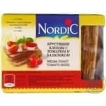 Хлібці хрусткі з томатом та базіліком Nordic 100г