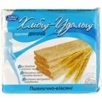 Crispbread Hlebtsy-udalʹtsy wheat-oat for diabetics 100g