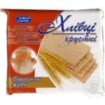 Crispbread Hlebtsy-udalʹtsy rye for diabetics 100g