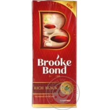 Tea Brooke bond black 45g
