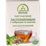 Чай трав'яний Заспокійливий з чебрецем Бескид 100г