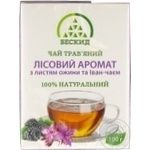 Beskyd Forest Aroma Herbal Tea with Blackberry Leaves and Blooming Sally 100g