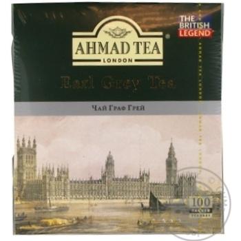 Чай Ахмад Граф грей черный 2г х 100шт