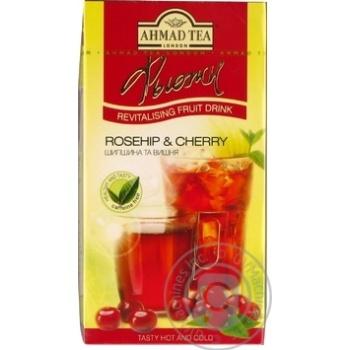 Чай Ahmad фьюжн шиповник и вишня 20п