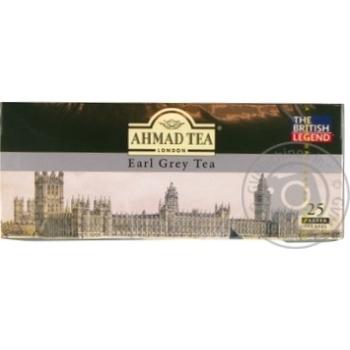 Чай черный Amad Earl Grey с бергамотом 25шт 2г