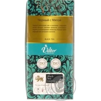 Чай чорний цейлонський байховий з м'ятою VILTER   в пакетиках 25х2г - купити, ціни на Novus - фото 3