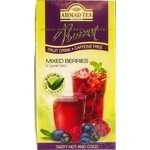Tea Ahmad Berry mix fruit packed 20pcs 40g