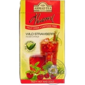 Смесь фруктово-ягод Ahmad tea London лесная землян 20*2г/уп