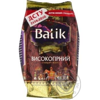 Чай черный Batik высокогорный мелкий 100г