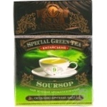 Green pekoe tea Sun Gardens Old Green Garden with sousop 90g can Ukraine