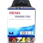Кнопки цветные Sigma 150шт