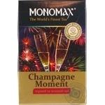 Чай чорний та зелений Мономах Бризки Шампанского 80г