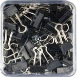 Біндери чорні Sigma 19mm 80шт - купити, ціни на Метро - фото 2