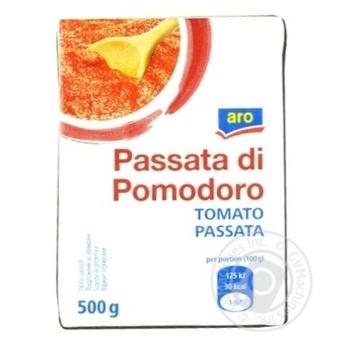 Скидка на Паста томатная Aro с добавлением соли 500г
