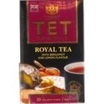 Tea Tet with oil of bergamot black 20pcs 40g
