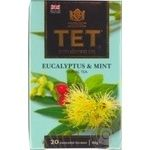 Tea Tet with eucalyptus black packed 20pcs 40g
