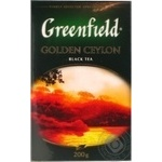 Greenfield Golden Ceylon black tea 200g