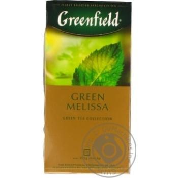 Чай Greenfield зеленый Green Melisa 25шт*1.5г