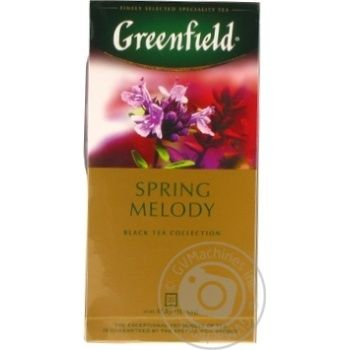 Чай Greenfield черный Spring Melody 25шт*1.5г