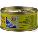 Печень лосося Остров De Luxe Pate пастеризованная 90г - купить, цены на Novus - фото 4