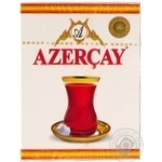 Black pekoe tea Azercay Extra medium leaf with bergamot flavor 100g