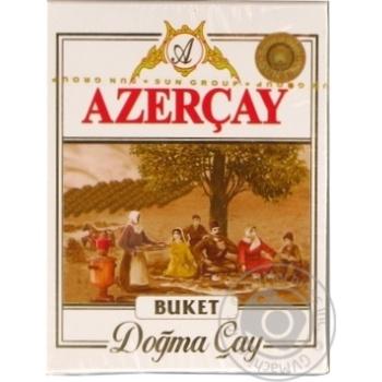 Чорний чай Азерчай Букет байховий крупнолистовий 100г Азербайджан - купити, ціни на Novus - фото 1