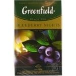 Чай чорний Greenfield Blueberry Nights 100г