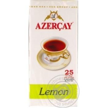 Azercay Black Tea with lemon 25pcs*1,8g