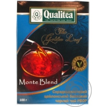 Quality Monte Blend black loose tea 100g - buy, prices for MegaMarket - image 1