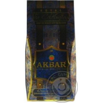 Akbar Orient Mystery Black and Green Tea Blended