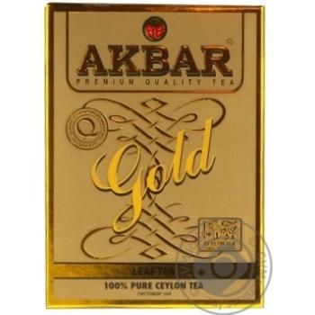 Чай Акбар Голд чорний 100г