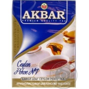 Akbar Pekoe №1 Black Tea 100g