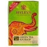 Tea Hyleys sousep green 90g cardboard packaging