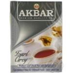 Чай черный Akbar Earl Grey 100г