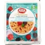 Axa with cream raspberries and blackberries quick-cooking oatmeal 40g