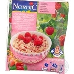 Oatmeal porridge Nordic raspberries quick-cooking 35g Finland