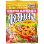 Каша овсяная Ваша Каша Овсяночка Сказочная Клубника с сахаром быстрого приготовления 35г Украина