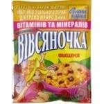 Каша овсяная Ваша Каша Овсяночка Сказочная Вишня с сахаром быстрого приготовления 35г Украина