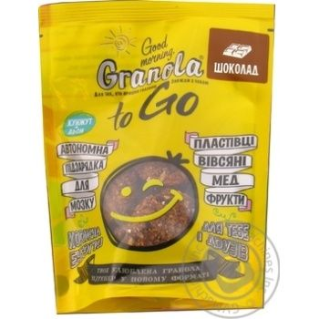 Granola Dobroe utro with chocolate 140g