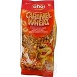 Сніданок сухий готовий OHO Повітряні зерна пшениці зі смаком карамелі 150г