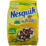 Завтрак готовый сухой Nesquik Alphabet с витаминами и минералами 460г