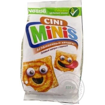 Готовий сухой завтра Cini-Minis с витаминами и минералами 250г