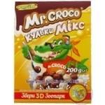 Шарики Золотое Зерно Mr.Croco шоколадно-молочные микс 200г