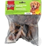 Topsi for dogs dried beef lungs 60g