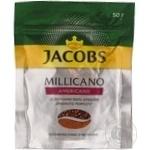 Кофе Jacobs Monarch Millicano Americano растворимый с молотым 50г