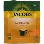 Кава натуральна розчинна порошкоподібна Якобз Монарх Крема 30г