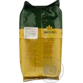 Кофе Jacobs Crema в зернах 1кг - купить, цены на Ашан - фото 3