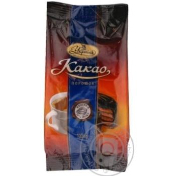 Какао-порошок срібний ярлик 100г